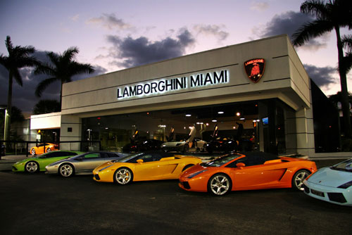 Lambo Dealership Suggestions