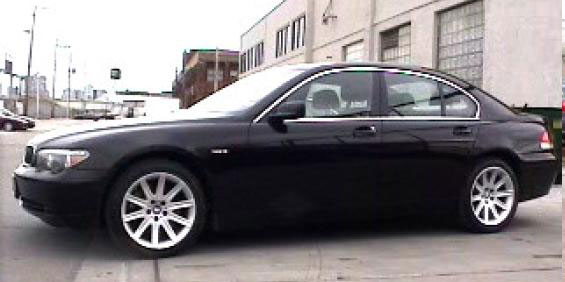 2002 BMW 745i pictures