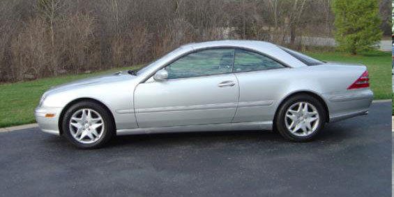 Benz Cl500 Pictures 2001 Mercedes-benz Cl500 Coupe