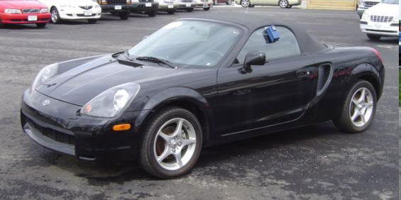 2001 Toyota MR2 Spyder Spyder Convertible pictures. Years 2000 - 2003