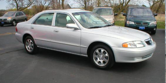 2001 Mazda 626 Used Car Pricing, Financing and Trade In Value