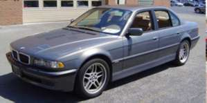 2001 BMW 740i Automatic pictures