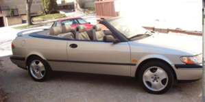 1997 Saab 900 Convertible Turbo pictures