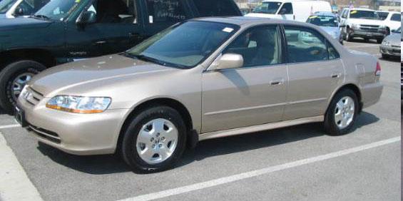 2002 Honda Accord Ex Sedan Pictures