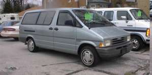1996 Ford Aerostar Extended Sport Van 4x4 pictures