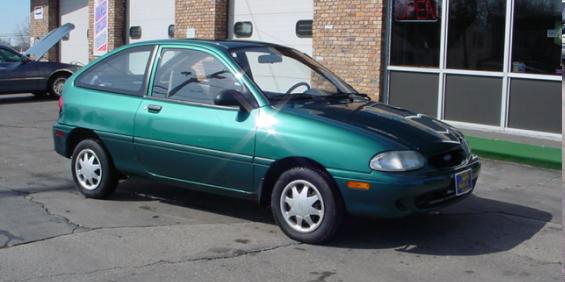 1997 Ford Aspire 2 Door Hatchback pictures