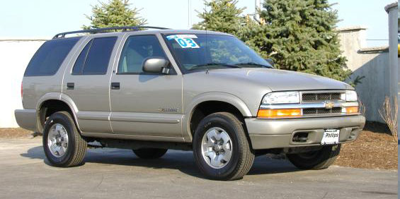 2003 Chevrolet Blazer Used Car Pricing, Financing and ...