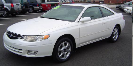 1999 Toyota Solara Sle Coupe Pictures