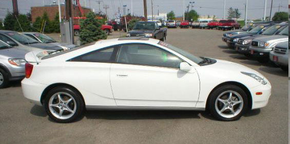 2001 toyota celica used car pricing financing and trade. Black Bedroom Furniture Sets. Home Design Ideas