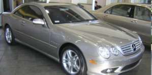 2003 Mercedes-Benz CL55 AMG Coupe pictures