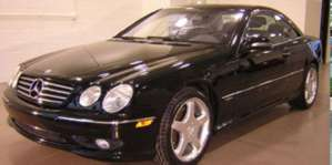 2002 Mercedes-Benz CL600 Coupe pictures