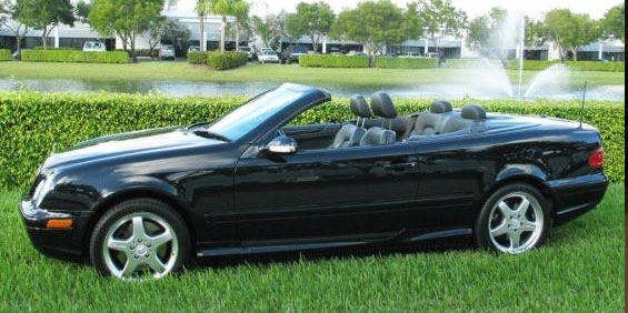 2002 mercedes benz clk55 used car pricing financing and for Mercedes benz trade in value