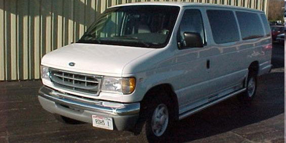 1998 Ford Club Wagon E350 Super Sport Van picture