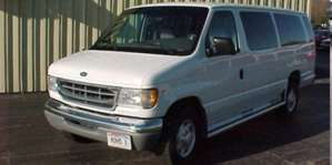 1998 Ford Club Wagon E350 Super Sport Van pictures