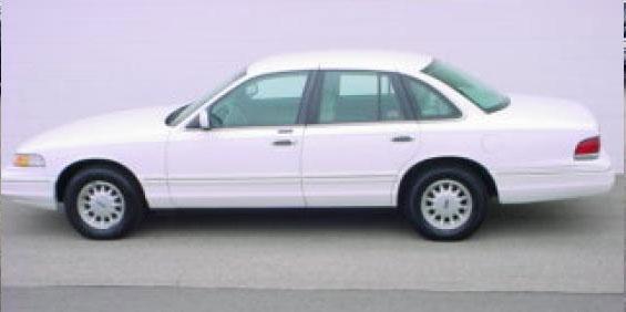 Ford Crown Victoria Lx Sedan Picture