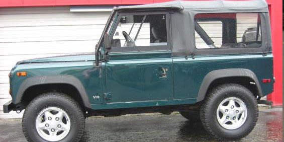 1997 Land Rover Defender 90 4x4 picture