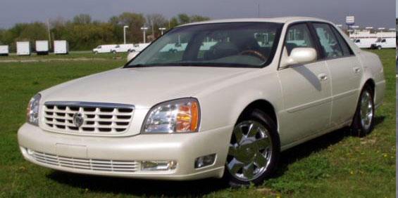 2001 Cadillac De Ville DTS Sedan pictures