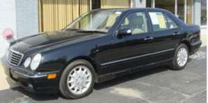 2001 Mercedes-Benz E320 Sedan pictures