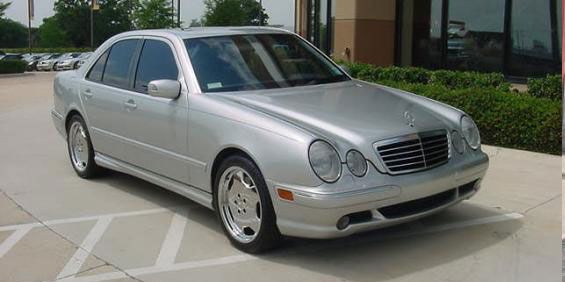 mercedes benz e55 picture used car pricing financing. Black Bedroom Furniture Sets. Home Design Ideas