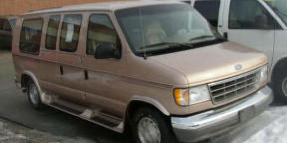 1996 Ford Econoline Conversion Van Picture