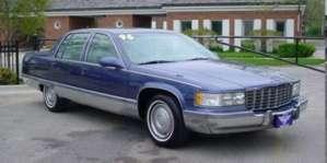 1996 Cadillac Fleetwood Brougham Sedan pictures
