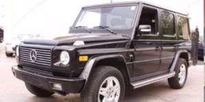 2003 Mercedes-Benz G500 4x4 SUV pictures