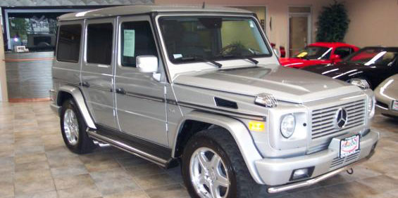 Mercedes benz g55 picture used car pricing financing for Mercedes benz trade in value