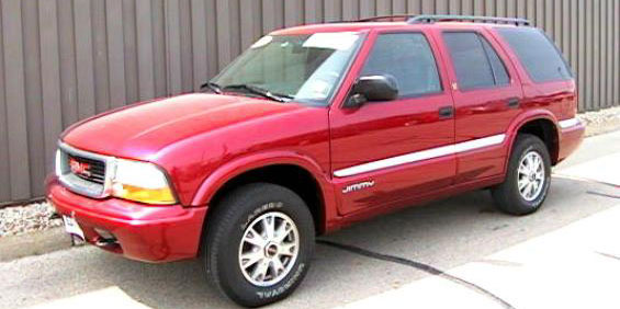 2001 GMC Jimmy 4x4 pictures