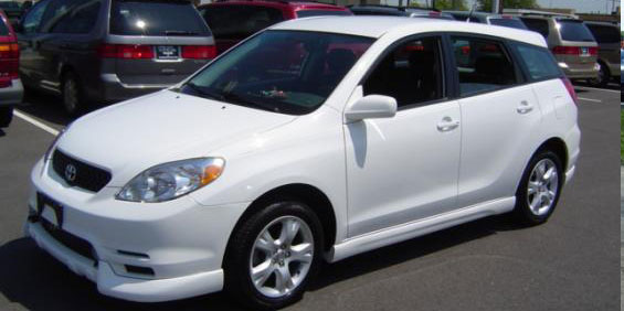 2003 toyota matrix used car pricing financing and trade. Black Bedroom Furniture Sets. Home Design Ideas