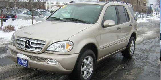 2003 Mercedes-Benz ML350 ML350 SUV pictures