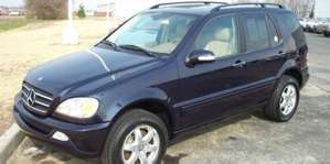 2003 Mercedes-Benz ML500 4x4 SUV pictures