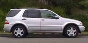 2003 Mercedes-Benz ML55 AMG pictures