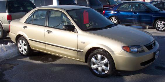 2002 Mazda Protege Used Car Pricing, Financing and Trade In Value