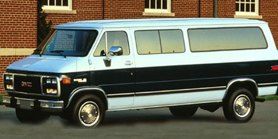 1994 GMC Rally Wagon 2 Dr G35 picture