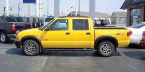 2002 Chevrolet S10 Pickup pictures