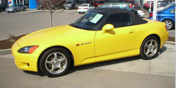 2003 Honda S2000 Convertible Pictures