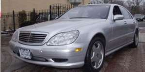 2002 Mercedes-Benz S55 AMG Sedan pictures