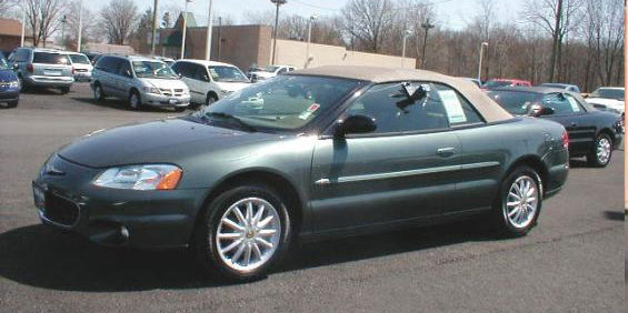 2003 Chrysler Sebring Lxi Convertible Pictures