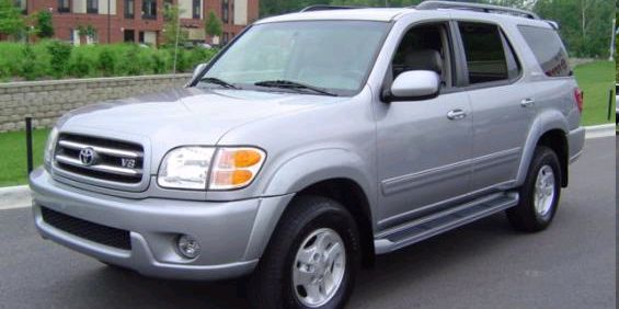 2002 toyota sequoia used car pricing financing and trade in value 2002 toyota sequoia used car pricing