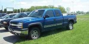 2003 Chevrolet 1500 ext. cab silverado 4x4 pictures