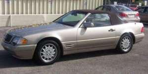 1997 Mercedes-Benz SL320 pictures