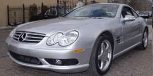 2003 Mercedes-Benz SL55 AMG Convertible pictures