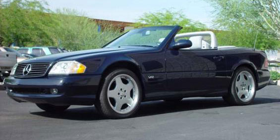 2002 mercedes benz sl600 roadster used car pricing for Mercedes benz trade in value