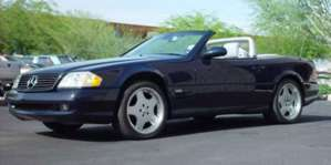 2002 Mercedes-Benz SL600 Roadster Convertible pictures