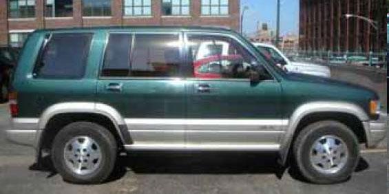 1997 Acura SLX pictures