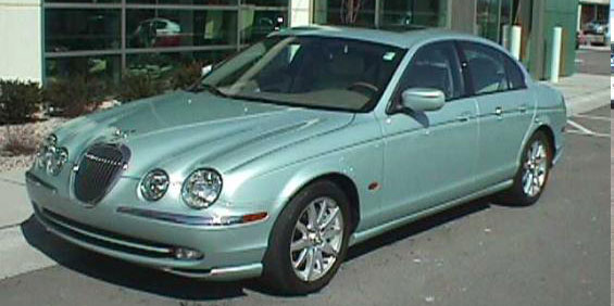jaguar s-type picture - used car pricing, financing and trade in value