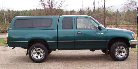1998 Toyota T100 Xtra Cab 4x4 Pictures