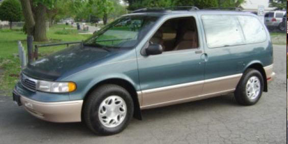 1996 Mercury Villager Van Picture
