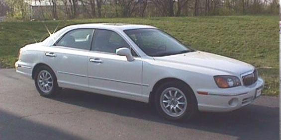 hyundai 2003 xg350 review